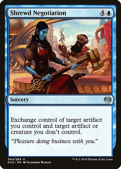 Shrewd Negotiation [Kaladesh]