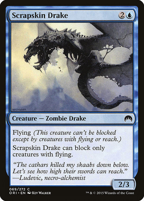 Scrapskin Drake [Magic Origins]
