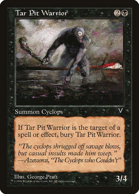 Tar Pit Warrior [Visions]