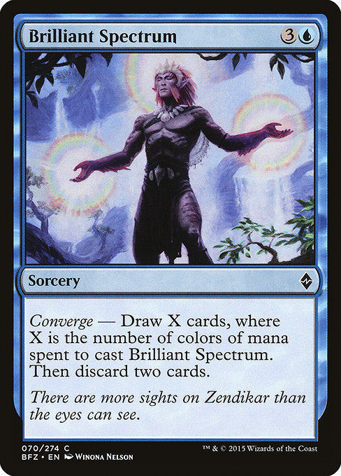 Brilliant Spectrum [Battle for Zendikar]