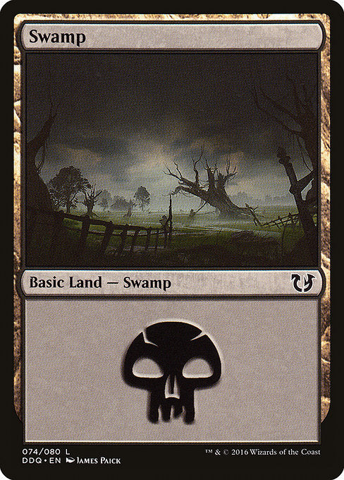 Swamp [Duel Decks: Blessed vs. Cursed]