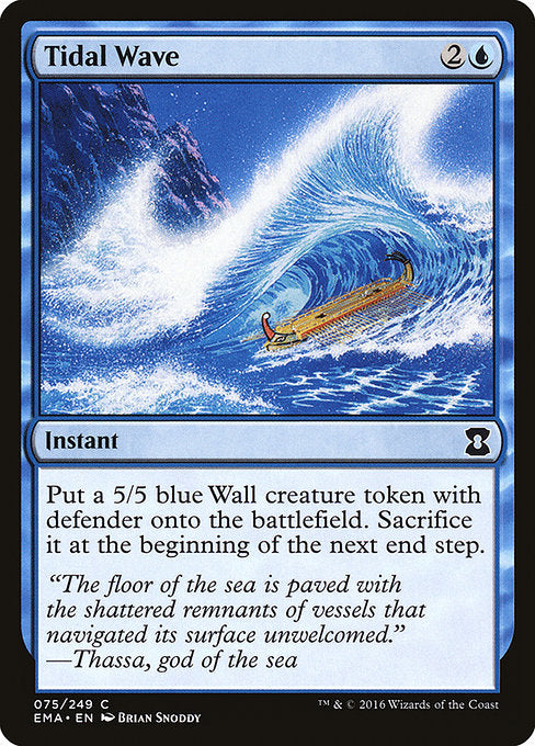 Tidal Wave [Eternal Masters]