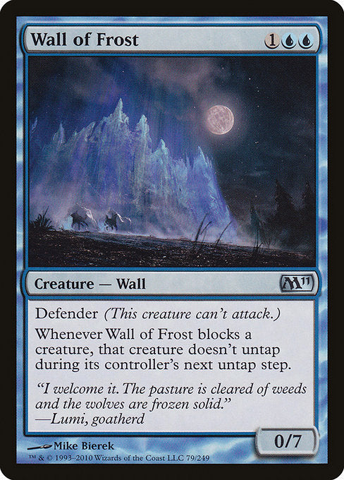 Wall of Frost [Magic 2011]