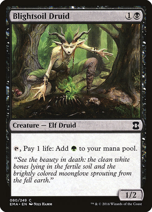 Blightsoil Druid [Eternal Masters]