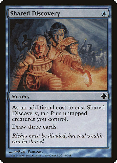 Shared Discovery [Rise of the Eldrazi]