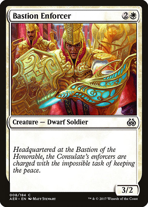 Bastion Enforcer [Aether Revolt]