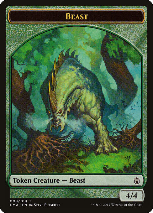 Beast [Commander Anthology Tokens]