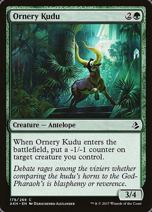 Ornery Kudu [Amonkhet]