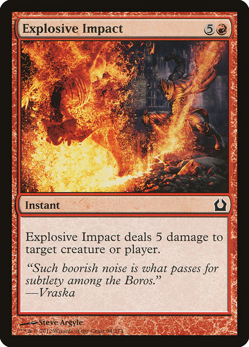 Impacto Explosivo [Return to Ravnica]