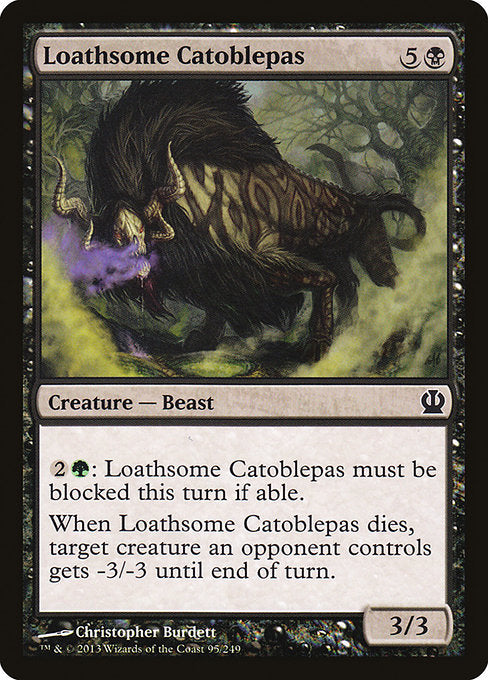 Loathsome Catoblepas [Theros]