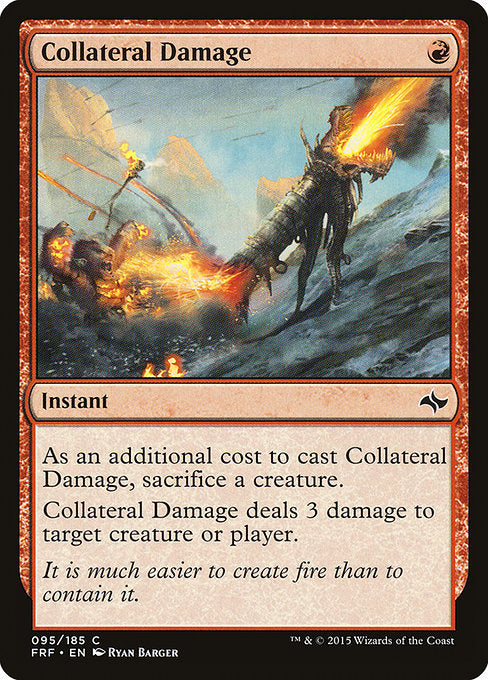 Collateral Damage [Fate Reforged]
