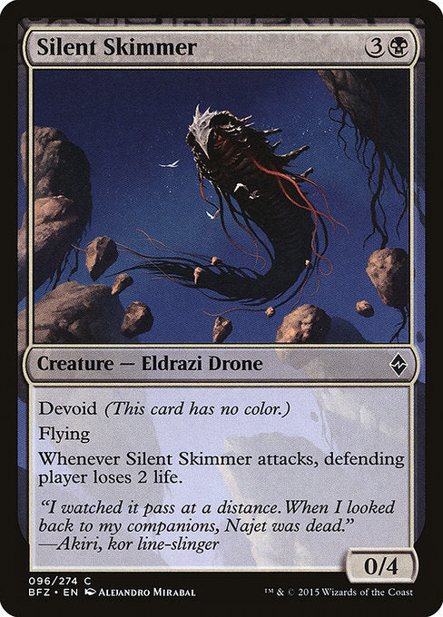 Silent Skimmer [Battle for Zendikar]