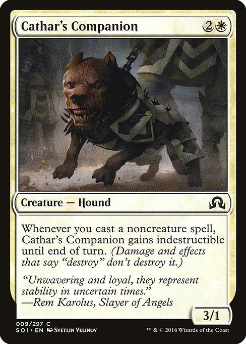 Cathar's Companion [Shadows over Innistrad]