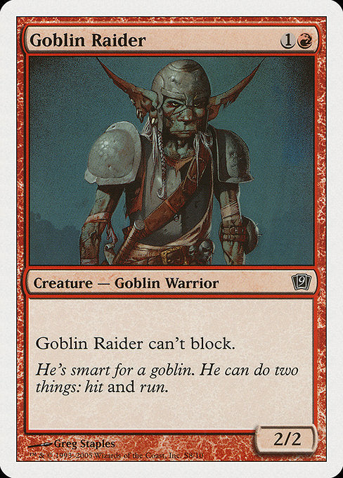Goblin Raider [Ninth Edition]