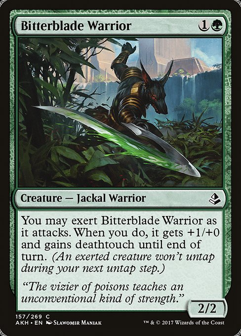 Bitterblade Warrior [Amonkhet]