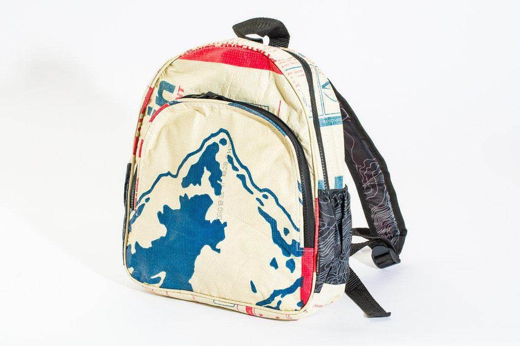 Repurposed Mini Backpack in different styles- Fosters Sustainable Communities