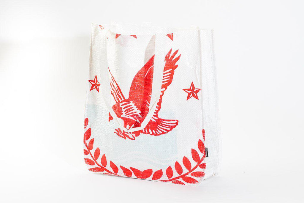 Repurposed Tote Bag- Eco-Friendly, Sustainable, Fosters Global Communities