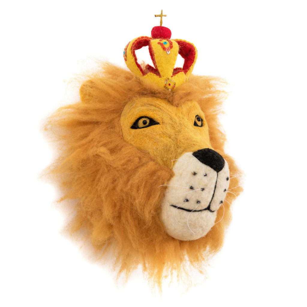 Price Leopold The Lion Kids & Baby Wall Decoration- Supports Fair trade Artisans in Nepal