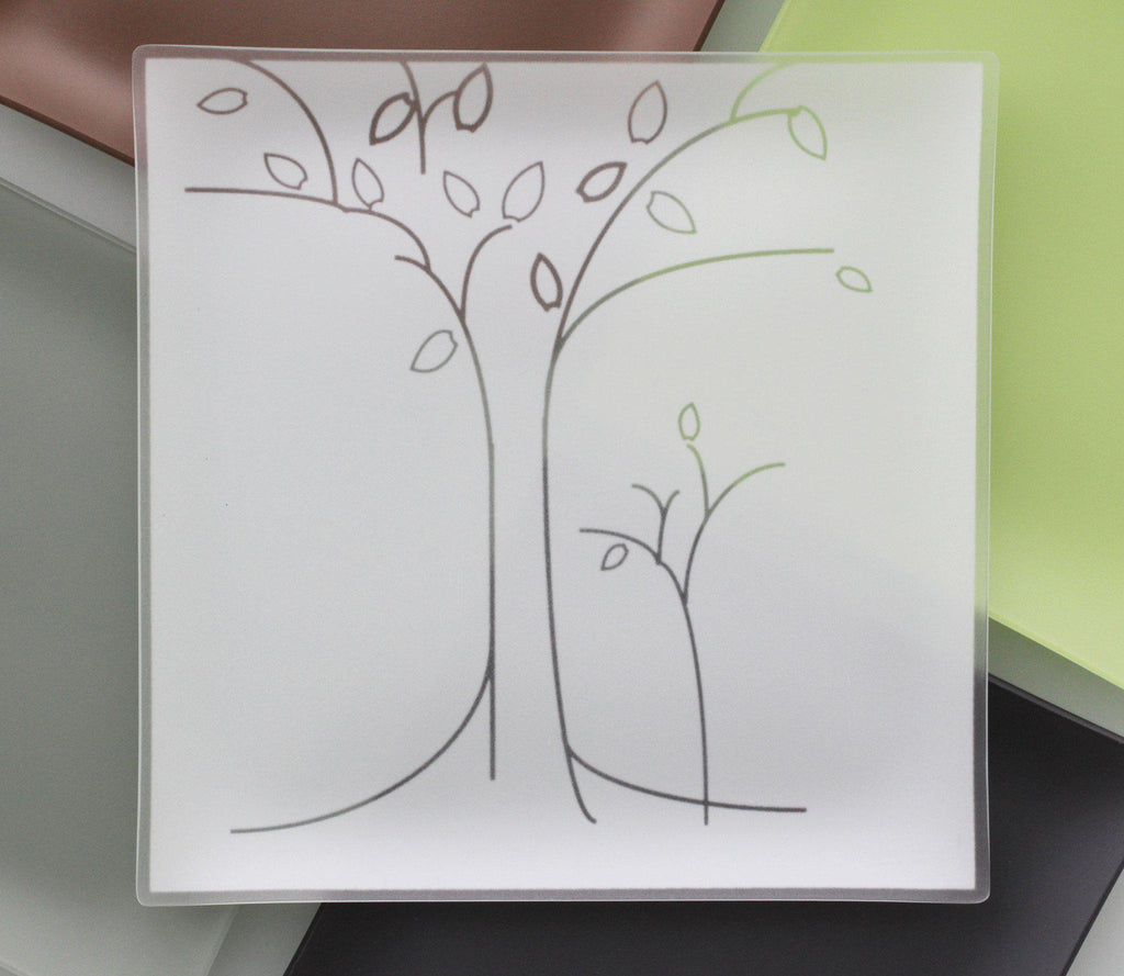 Trees Plate With Purpose™ - Benefits CASA- Advocates for Children, Made in the USA- Recycled - Give Back Goods