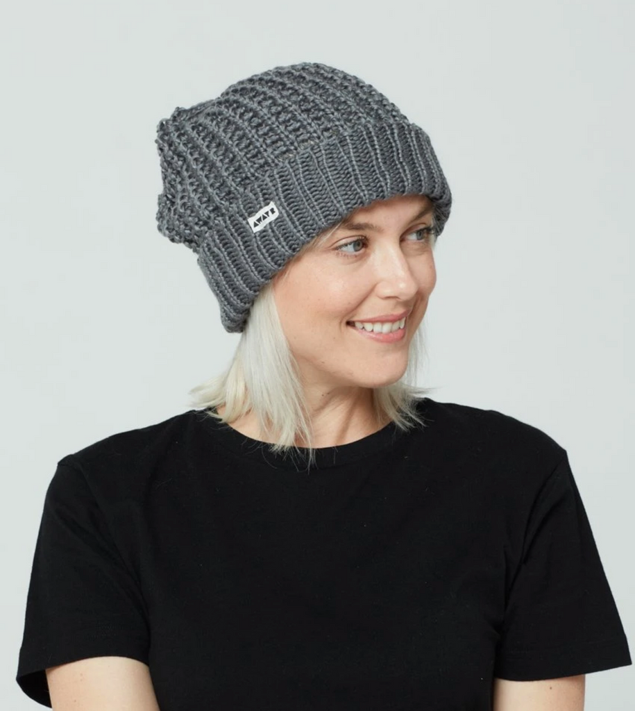 Fair Trade Brix Beanie Hat, Help Break the Cycle of Poverty