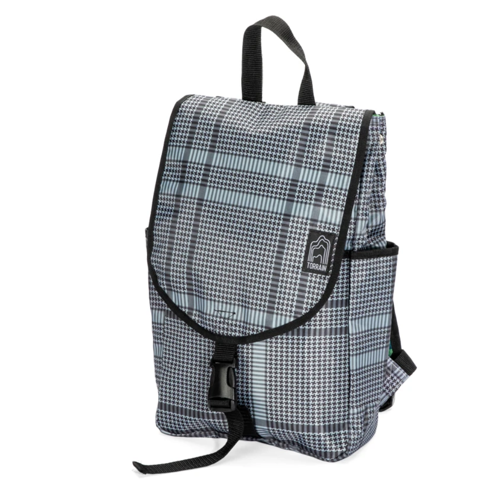 Repurposed US Made Small Day Pack Backpack, Eco-Friendly & Sustainable