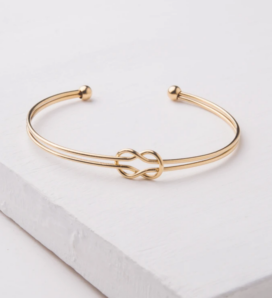 Gold Knot Bracelet, Gives freedom to exploited girls & women!