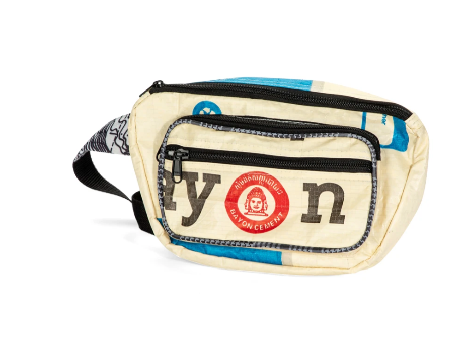 Upcycled Fanny Pack, Saves Landfill Space & Supports communities