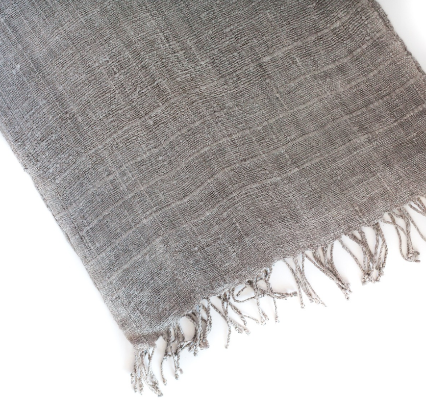 Hand-Woven & Fair Trade Silk Scarfs