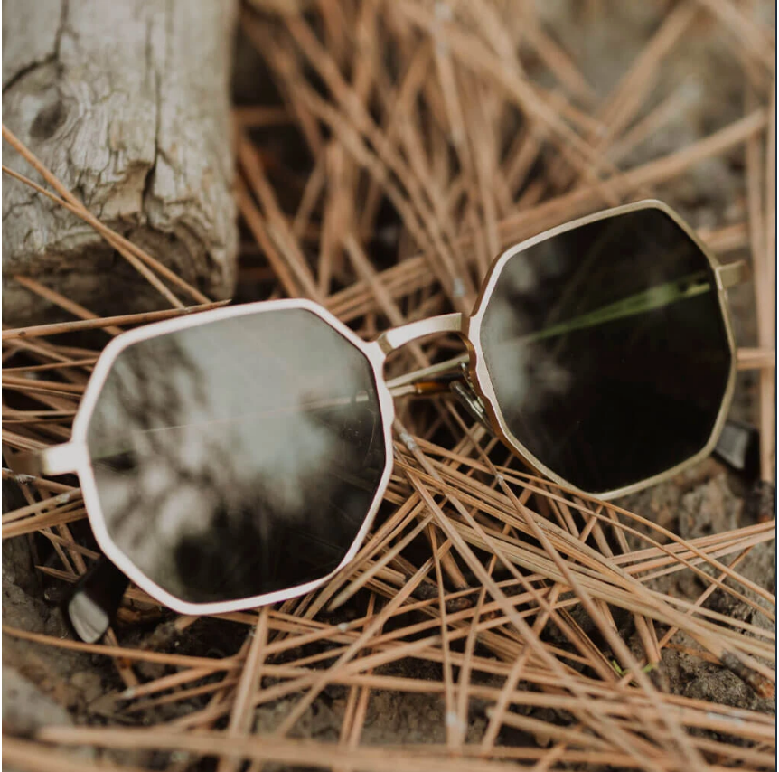 Eco-Friendly Recycled Aluminum Caldera Sunglasses- Gives back to vision health education