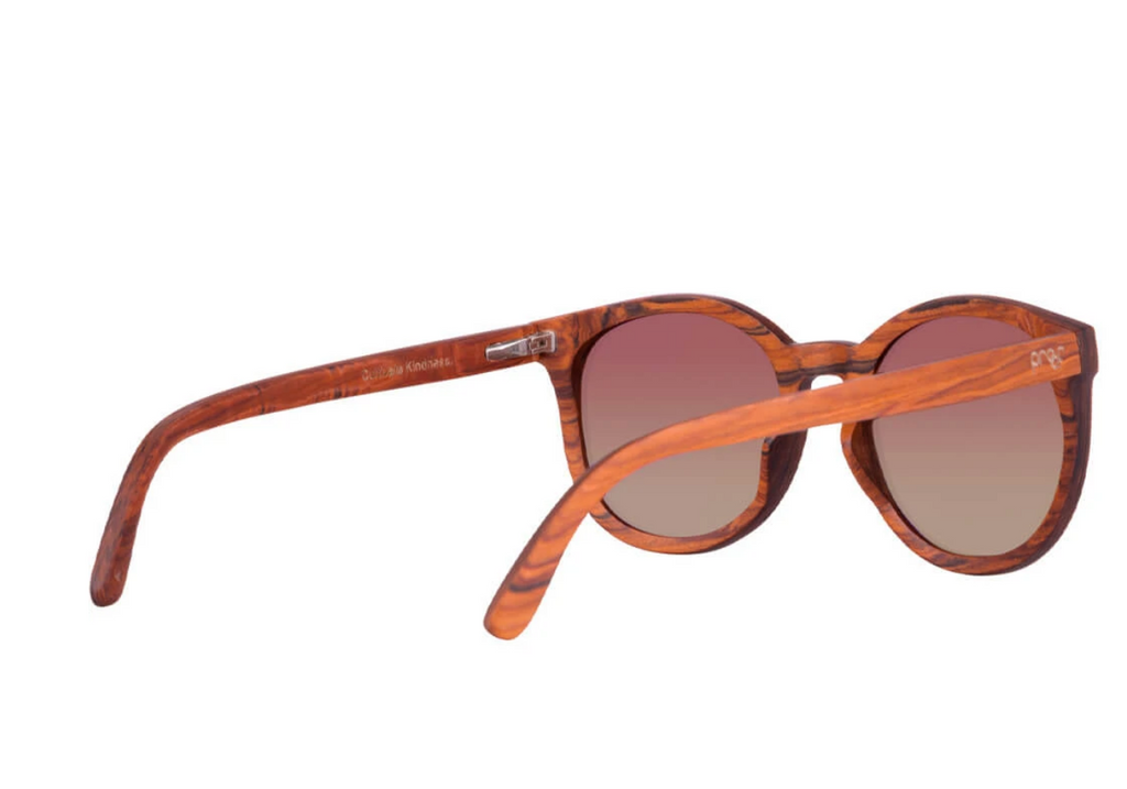 Sustainable Wood Sunglasses - Uinta - Helps Vision & Eco Projects
