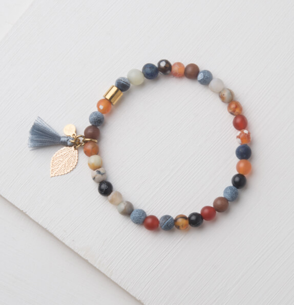 Agate Stone Bracelet, Gives freedom to exploited girls & women!