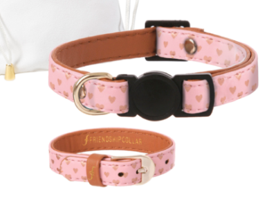 Vegan Cat Collar and matching Bracelet- Feeds 3 Shelter Animals! - Give Back Goods