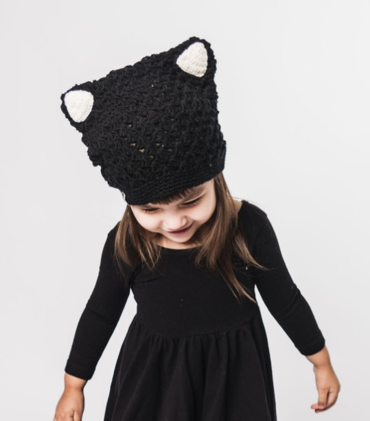 Child and Baby Kitty Cat Hat- Break the Cycle of Poverty - Give Back Goods