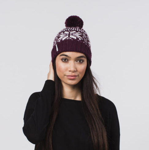 Handmade Becks Pom Beanie Hat- Help Break the Cycle of Poverty - Give Back Goods