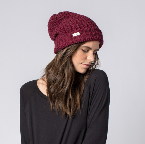 Fair Trade Brix Beanie Hat, Help Break the Cycle of Poverty - Give Back Goods