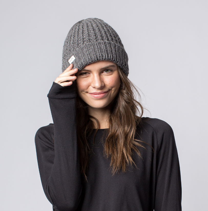 Brix Beanie Hat- Help Break the Cycle of Poverty - Give Back Goods