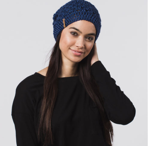 Handmade Agatha Beret Beanie Hat- Help Break the Cycle of Poverty - Give Back Goods