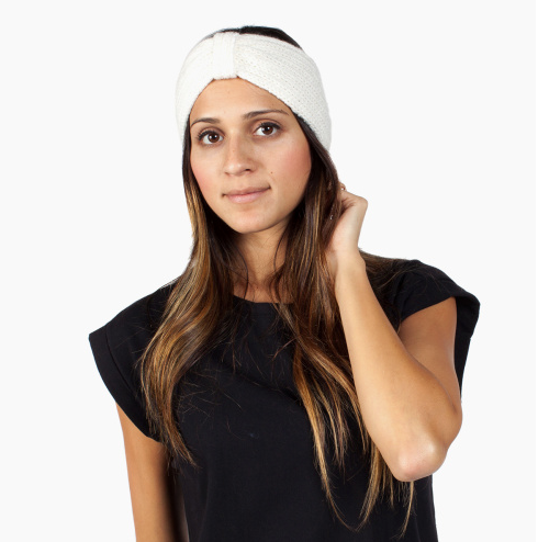 Stevie Ear Warmer Headband- Help Break the Cycle of Poverty - Give Back Goods