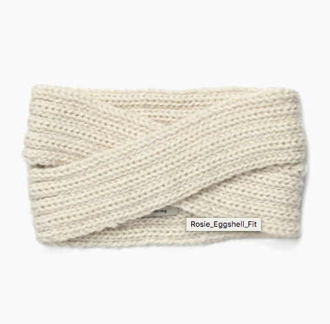 Rosie Ear Warmer Headband- 100% Alpaca- Help Break the Cycle of Poverty - Give Back Goods