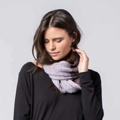 Handmade Andie Striped Infinity Scarf, Fair Trade - Give Back Goods