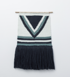 Ocean Mist Handmade Woven Wall Hanging - Helps Break the Cycle of Poverty! - Give Back Goods