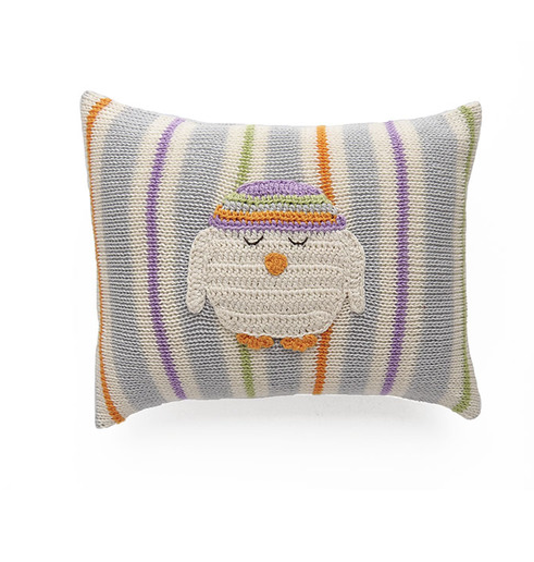 Owl Baby /Nursery Pillow- Support Fair Trade for Artisans - Give Back Goods