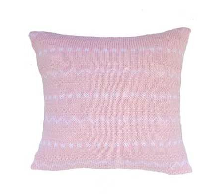 Noel Pillow - Baby /Child -Pink or Blue-  Support Fair Trade for Artisans - Give Back Goods