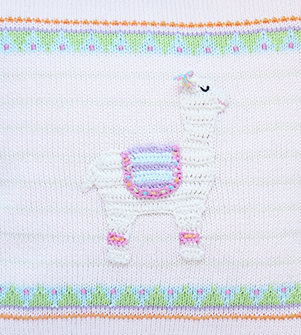 Handmade Llama Baby/Child Pillow- Fair Trade - Give Back Goods