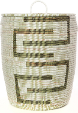 Fair Trade Sahara Hamper Laundry Storage Basket, 3 colors, Eco-Friendly - Give Back Goods