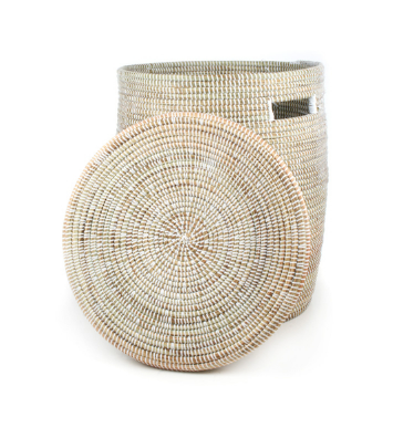 Eco-Friendly Hamper/ Basket (more colors/ patterns)- Fair Trade, Educates Artisans - Give Back Goods