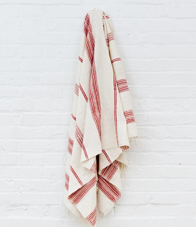 Hand Woven Aden Ethiopian Cotton Bath Towels (lots of colors) - Eco-Friendly, Fair Trade - Give Back Goods