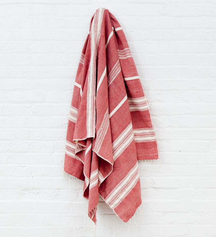 Ethiopian Cotton Bath Towels- Hand Woven (many colors)- Eco-Friendly, Fair Trade - Give Back Goods