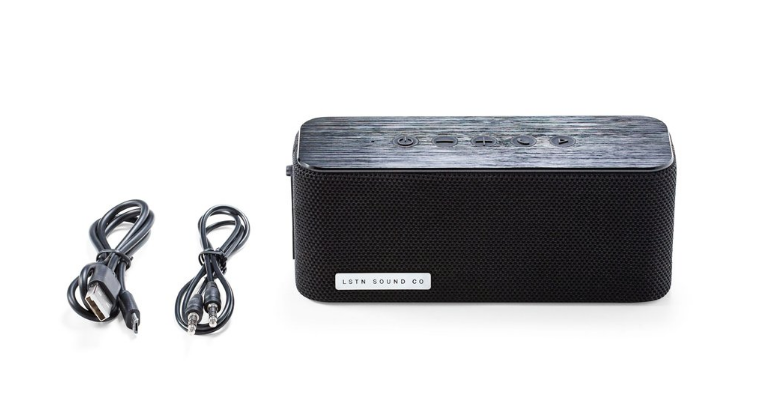 Bluetooth Wireless Travel Speaker- Gives hearing aids to people in need! - Give Back Goods