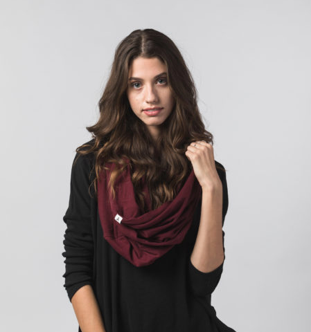 Santa Cruz 100% Organic Cotton Scarf- Help Break the Cycle of Poverty! - Give Back Goods